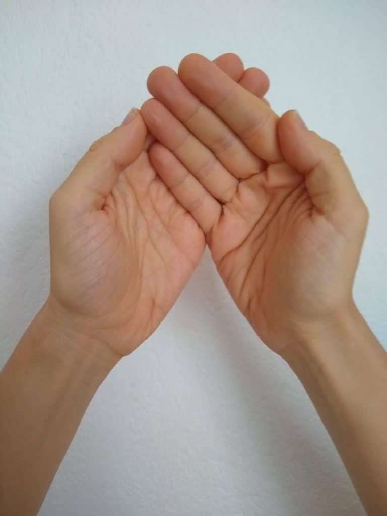 Deux mains palming