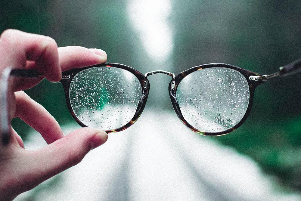 lunettes pluie